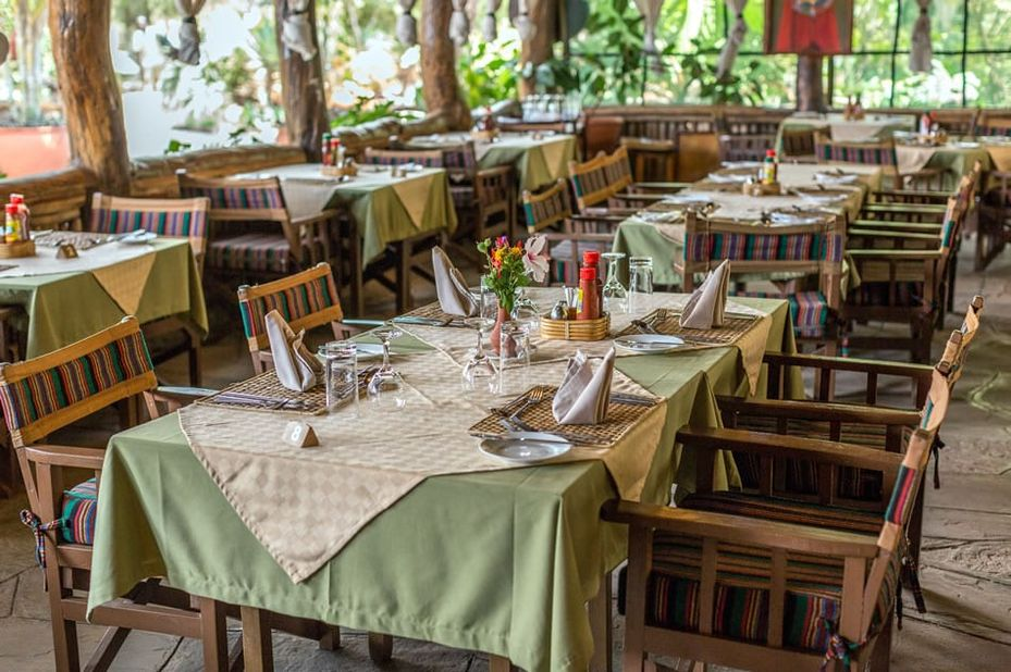 Kibo Safari Camp - restaurant - Amboseli - Kenia - foto: Kibo Safari Camp