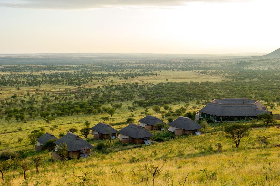 Kubu Kubu Tented Camp - uitzicht - Serengeti - Tanzania - foto: Tanganyika Wilderness Camps