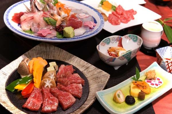 Kyotoya - kaiseki diner - Takeo Onsen - Japan - foto: Kyotoya