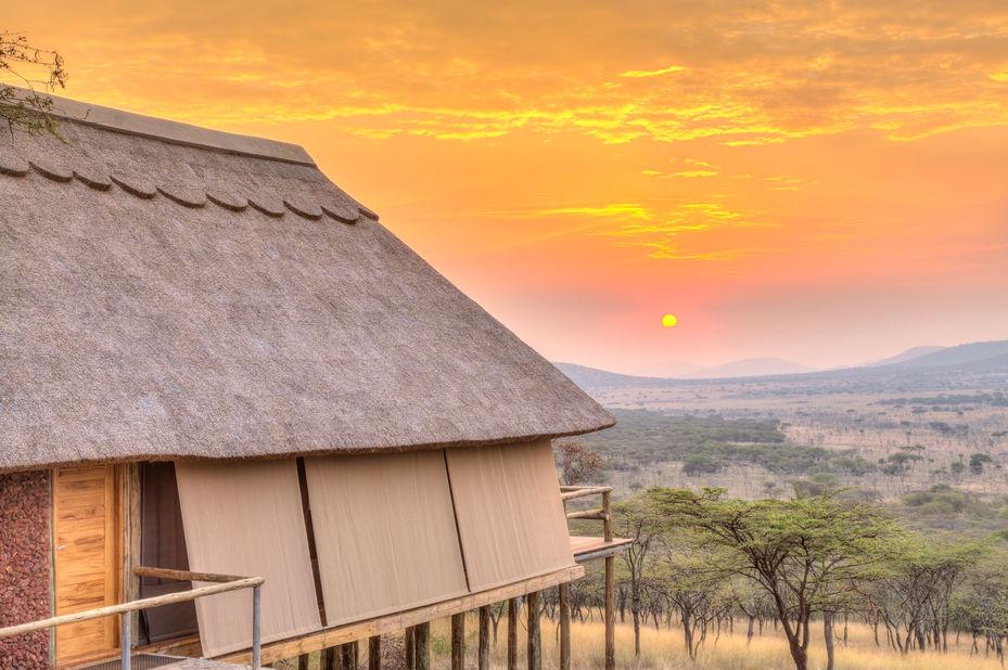 Lahia Tented Lodge - tent exterior - Serengeti - Tanzania - foto: Tanganyika Wilderness Camps