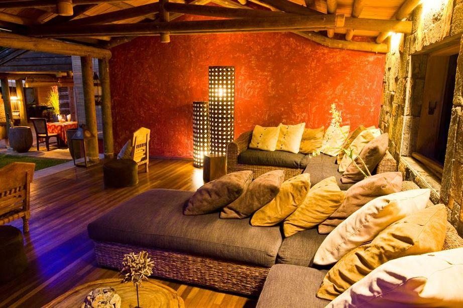 Lakaz Chamarel - lounge - Mauritius - foto: Lakaz Chamarel