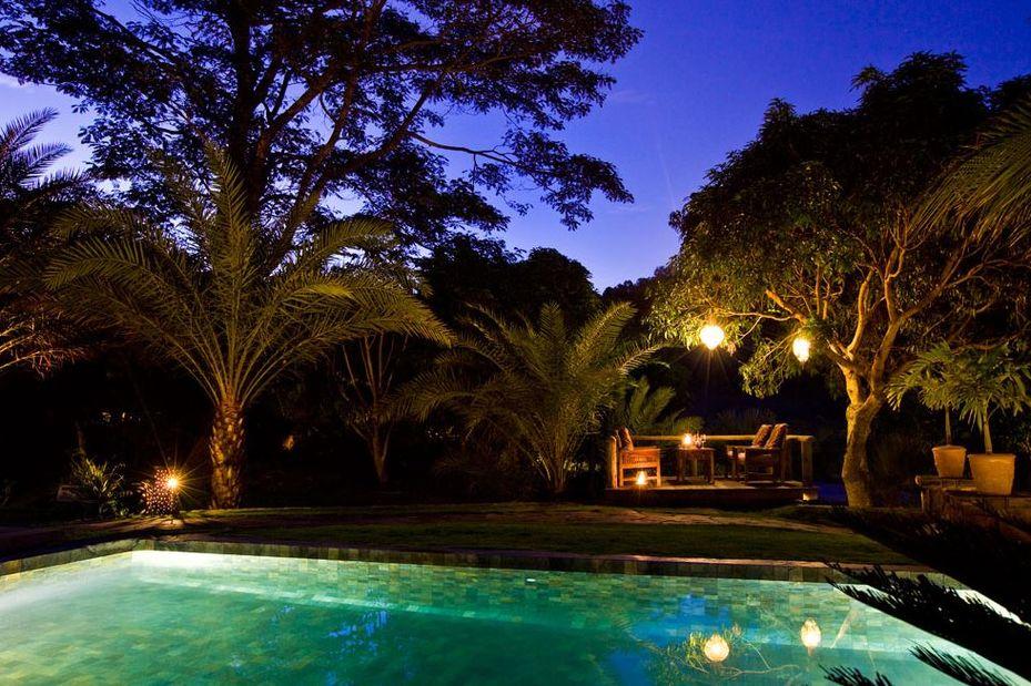 Lakaz Chamarel - zwembad - Mauritius - foto: Lakaz Chamarel