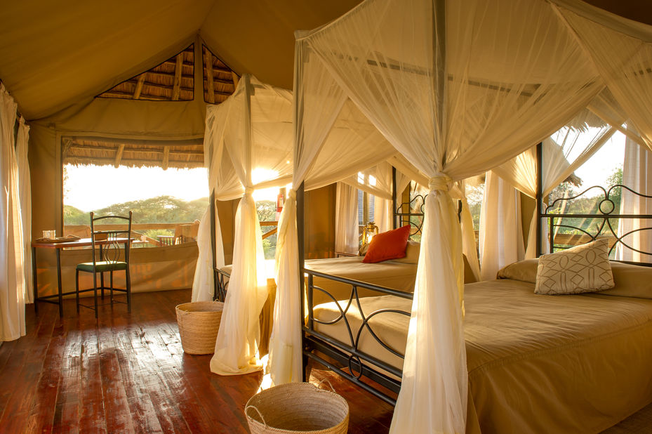 Lake Burunge Tented Camp - interieur - Tarangire - Tanzania - foto: Tanganyika Wilderness Camps