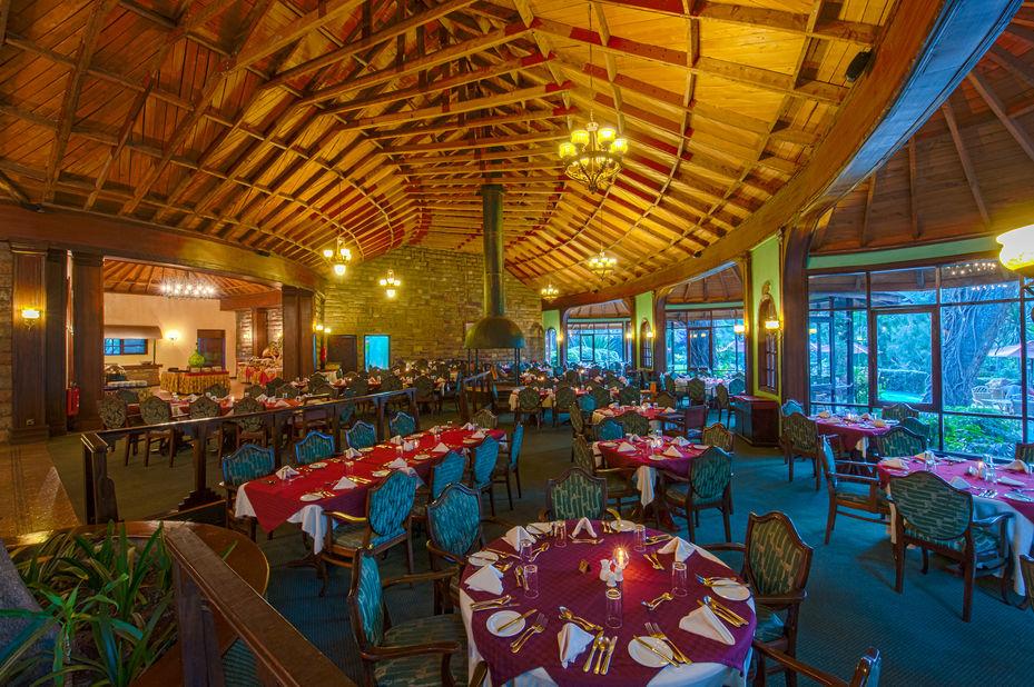 Lake Naivasha - Sopa Lodge - restaurant - Kenia - foto: Lake Naivasha Sopa Lodge