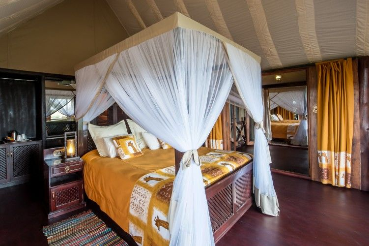 Lake Ndutu Luxury Tented Lodge - kamer - Serengeti - Tanzania - foto: Leopard Tours