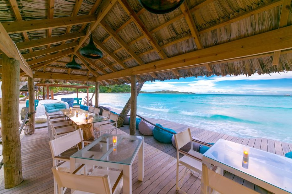 Le Duc De Praslin - cafe des artes - Seychellen - foto: Le Duc de Praslin