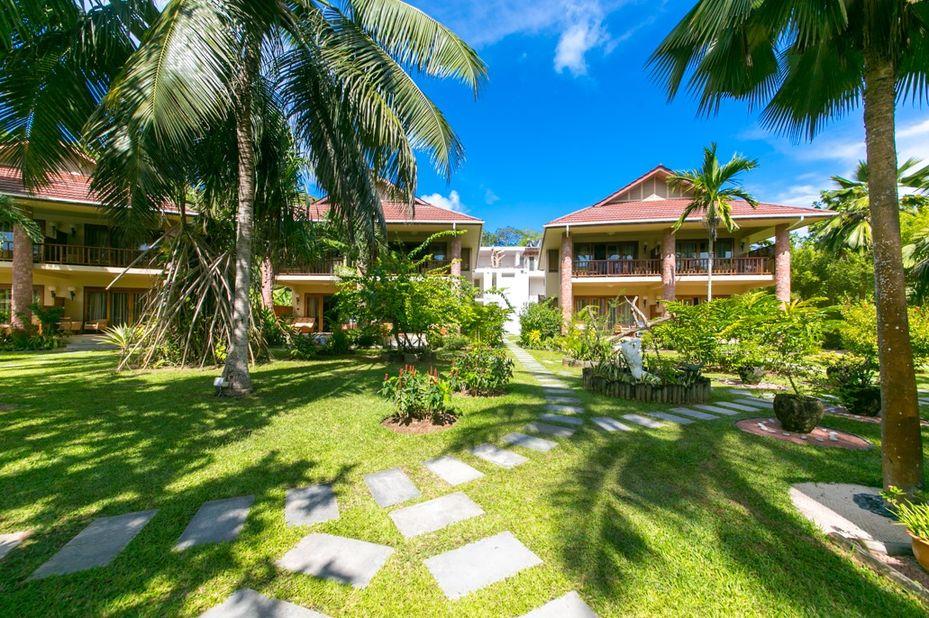 Le Duc De Praslin - tuin kamers - Seychellen - foto: Le Duc de Praslin