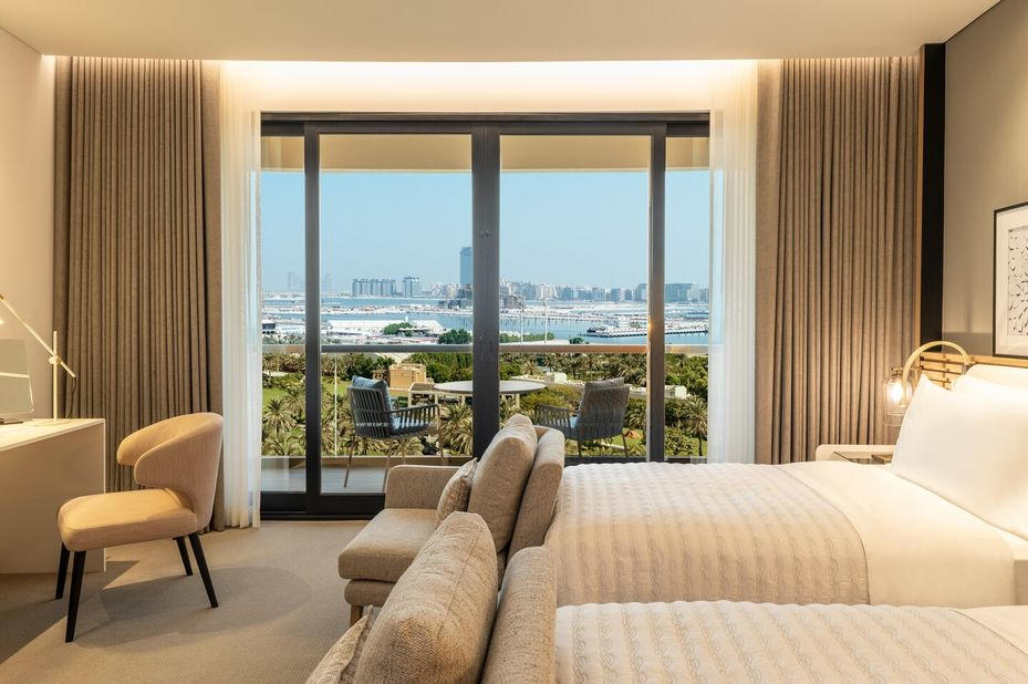Le Royal Meridien Royal Club - seaview room - Dubai - foto: Le Royal Meridien
