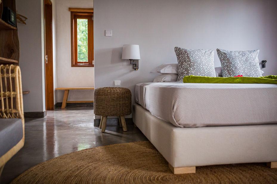Les Lauriers Eco Hotel - superior room - Praslin - Seychellen - foto: Le Lauriers
