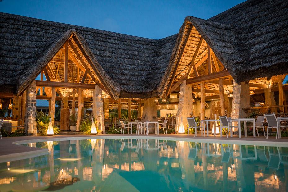 Les Lauriers Eco Hotel - zwembad - Praslin - Seychellen - foto: Le Lauriers