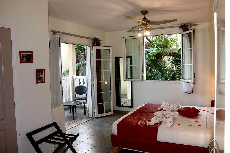 Lindsey Hotel - slaapkamer - Saint Pierre - Réunion - foto: Lindsey Hotel