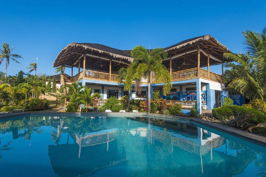 Liquid Dive Resort - Lodge -Dumaguete - Filipijnen - foto: Liquid Dive Resort