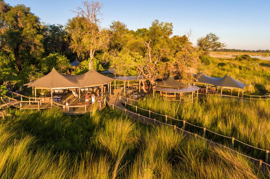 Little Vumbura - omgeving - Okavango Delta - Botswana - foto: Little Vumbura