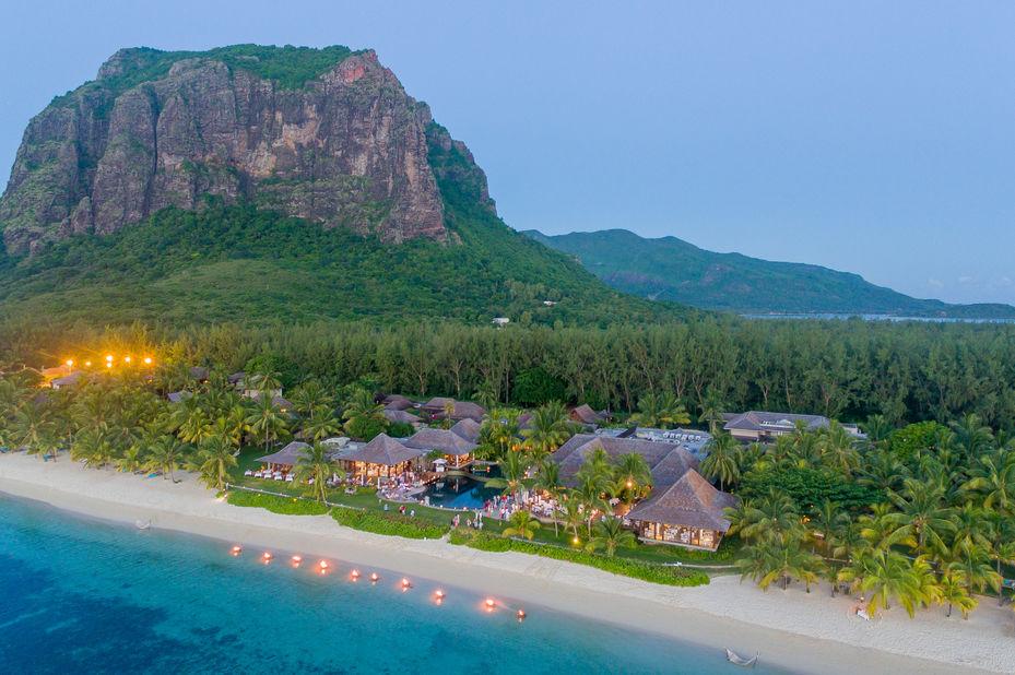 Lux Le Morne - aerial - Mauritius - foto: LUX