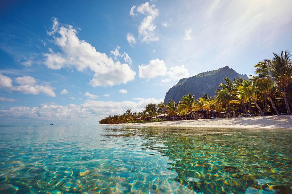 Lux Le Morne - strand - Mauritius - foto: LUX