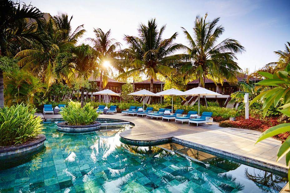 Lux Le Morne - zwembad - Mauritius - foto: LUX