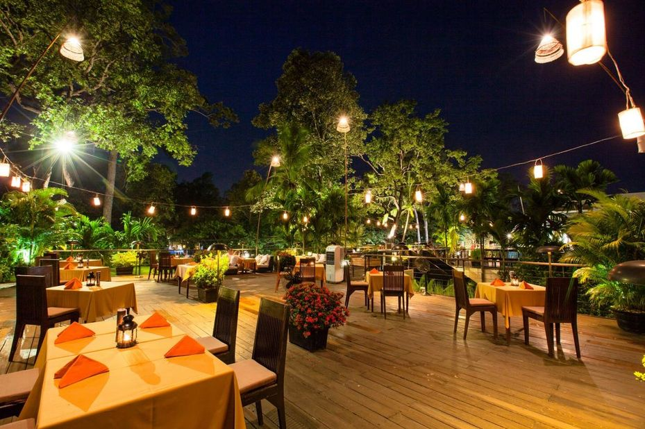 Lynnaya Urban River Resort Spa - restaurant - Siem Reap - Cambodja - foto: Lynnaya Urban River Resort and Spa