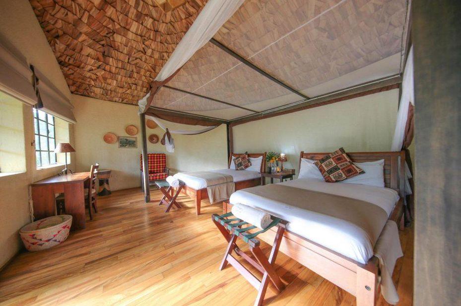 Mahogany Springs - slaapkamer - Bwindi - Oeganda - foto: Mahogany Springs