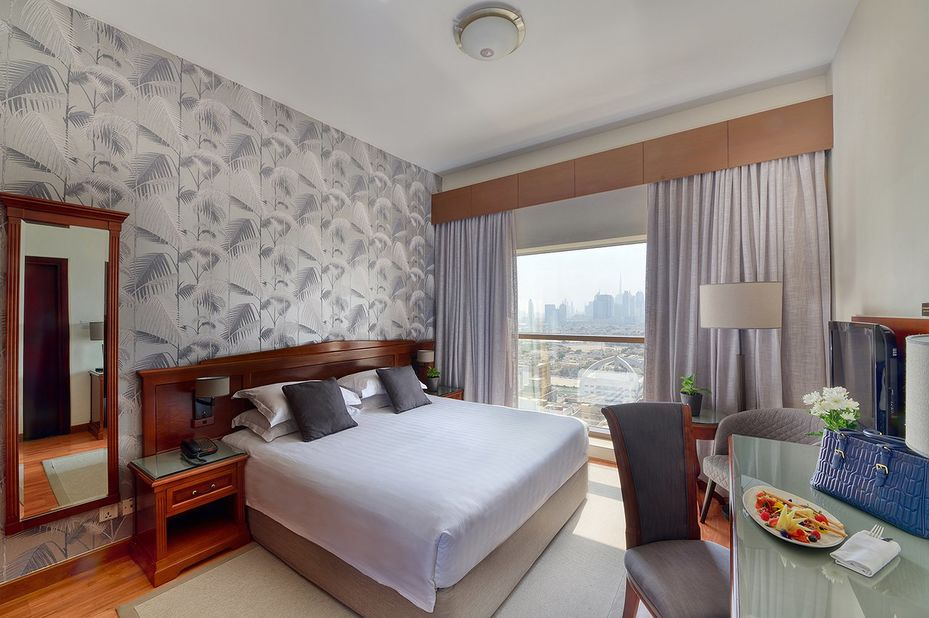 Majestic City Retreat - economy room - Dubai - foto: Majestic City Retreat Hotel