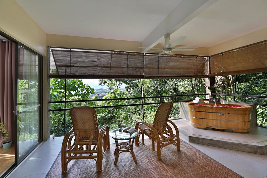 Maleisië - Langkawi - Ambong Ambong - balkon - foto: pixabay