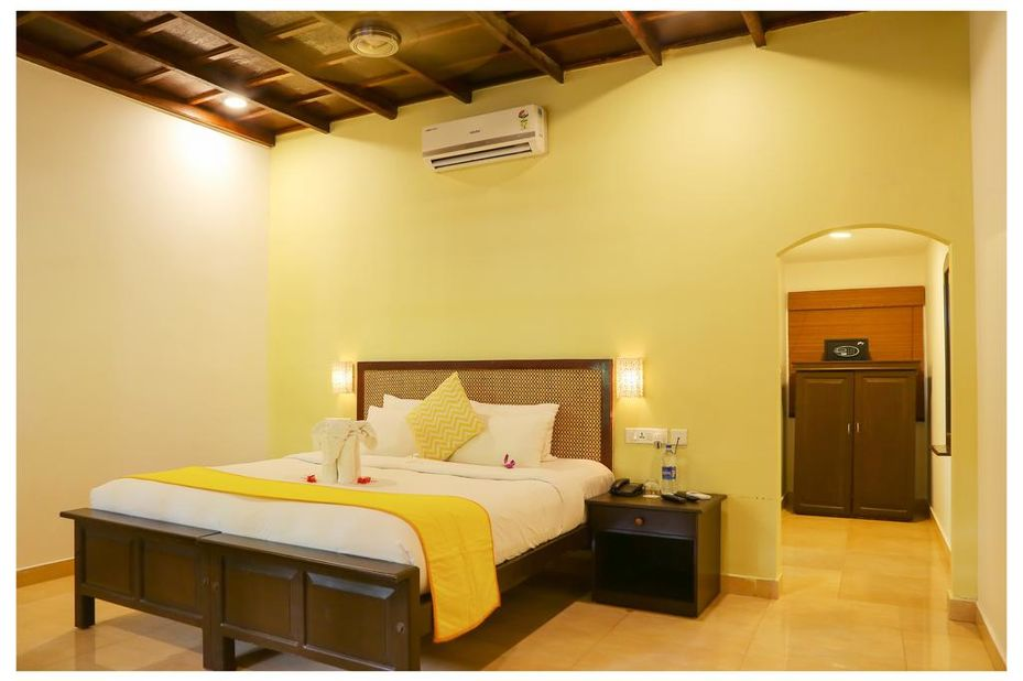 Marari Sands - kamer - Mararikulam - India - foto: Marari Sands Beach Resort
