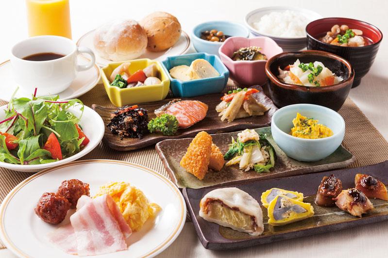Mitsui Garden Hotel Kumamoto - ontbijt - Kumamoto - Japan - foto: Mitsui Garden Hotel Kumamoto