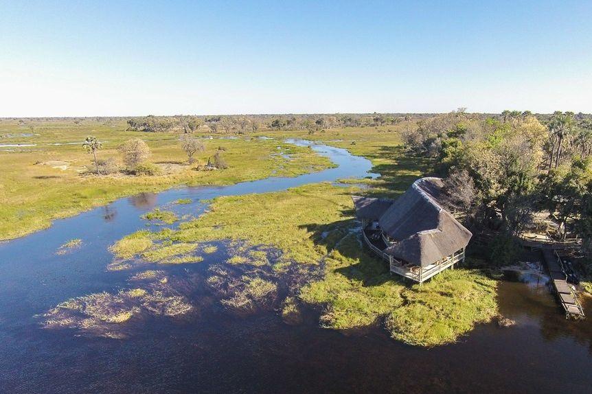 Moremi Crossing - lodge - Okavango Delta - Botswana - foto: Moremi Crossing
