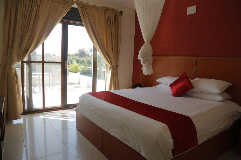 Moriah Hill Resort - kamer - Lake Kivu - Rwanda - foto: Moriah Hill Resort
