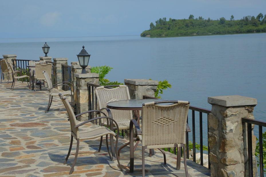 Moriah Hill Resort - zitje - Lake Kivu - Rwanda - foto: Moriah Hill Resort