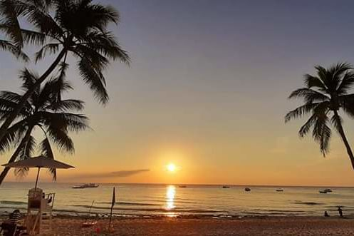 Mövenpick Resort and Spa - sunset - Boracay - Filipijnen  - foto: Mövenpick Resort and Spa Boracay