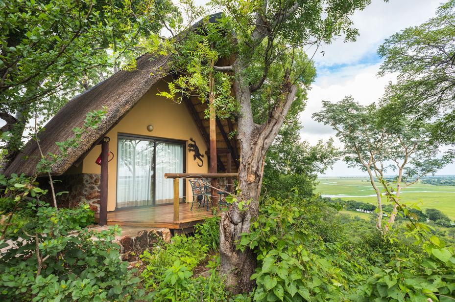 Muchenje Safari Lodge - chalet - Chobe - Botswana - foto: Muchenje Safari Lodge