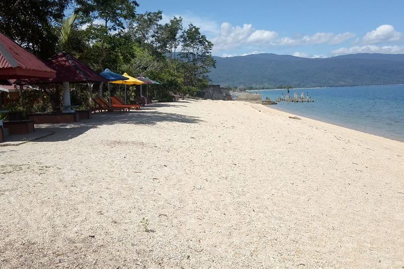 Mulia Poso Lake Hotel - strand - Pendolo - Sulawesi - foto: Mulia Poso Lake Hotel