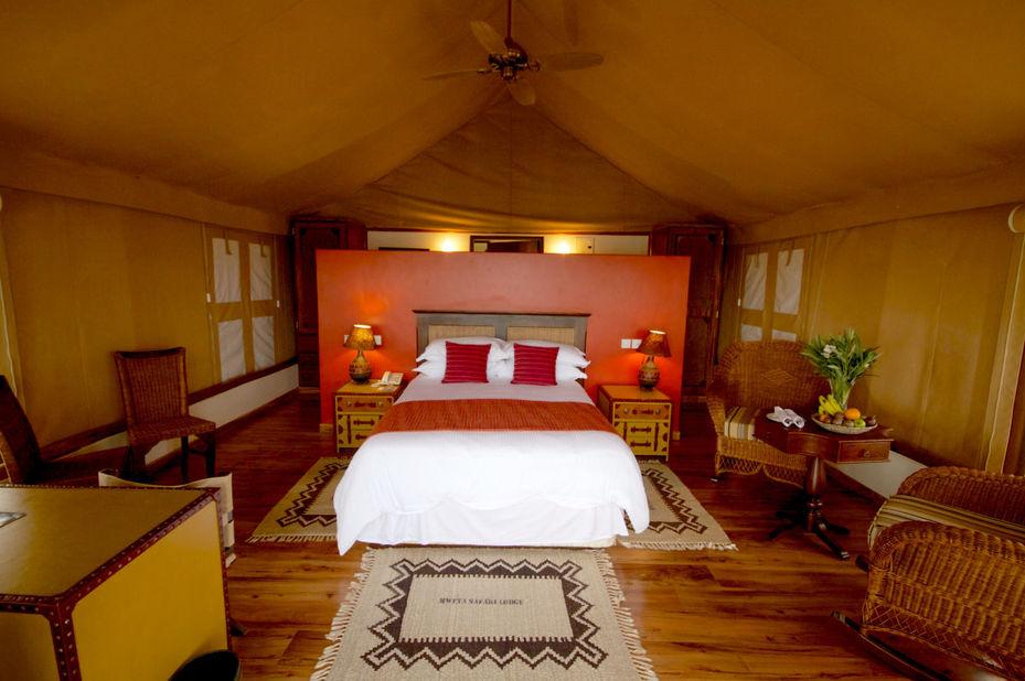 Mweya Safari Lodge - standard tent - Queen Elizabeth - Oeganda - foto: Mweya Safari Lodge