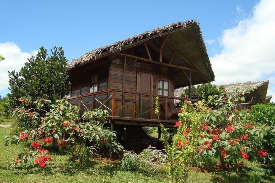 Nature Lodge - bungalow - Amber Mountain - Madagaskar - foto: Nature Lodge