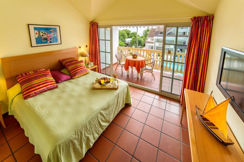 Le Nautile - slaapkamer - Saint Gilles - Réunion - foto: Le Nautile