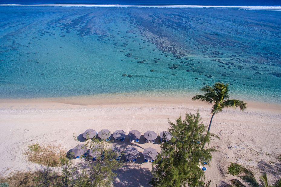 Le Nautile - strand - Saint Gilles - Réunion - foto: Le Nautile