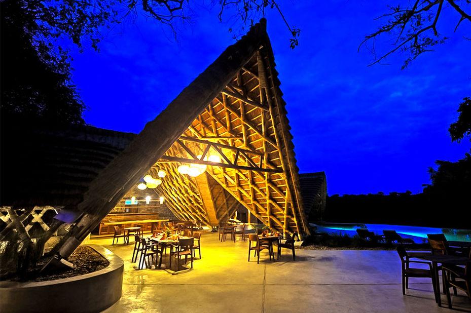 Nile Safari Lodge - exterior - Murchison Falls - Oeganda - foto: Nile Safari Lodge