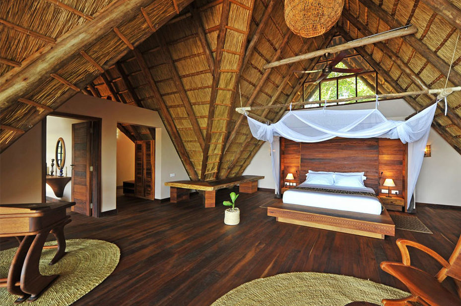 Nile Safari Lodge - luxury banda - Murchison-Falls - Oeganda - foto: Nile Safari Lodge