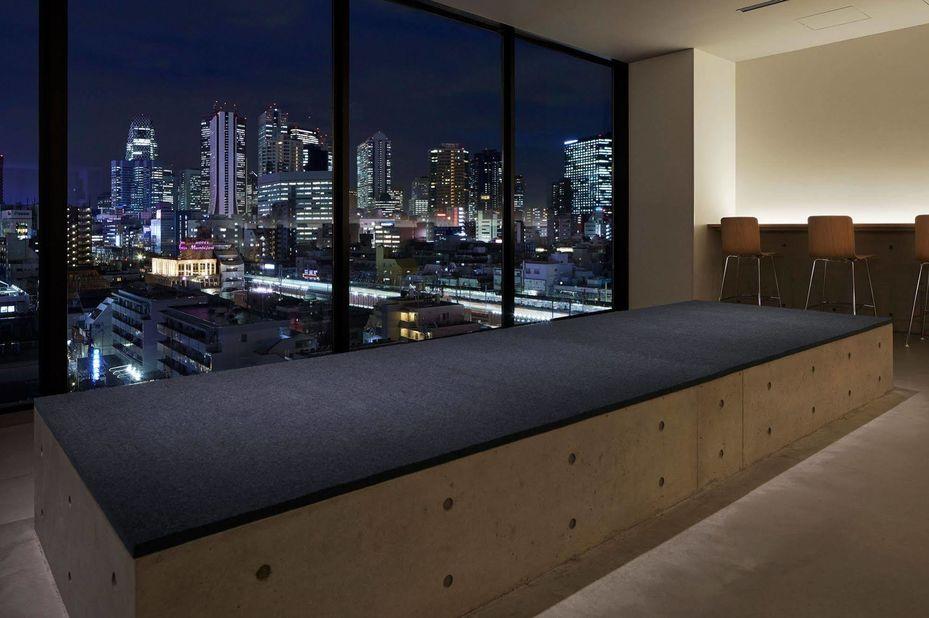 Nine Hours Capsule Hotel, uitzicht, Japan