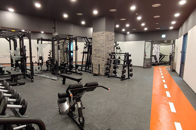 Fitnessruimte, Nine Tree Premier Hotel Myeongdong II, Seoul, Zuid-Korea