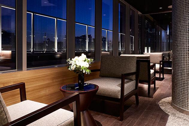 Lounge, Nine Tree Premier Hotel Myeongdong II, Seoul, Zuid-Korea