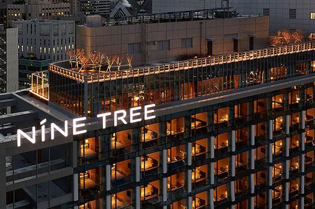 Voorgevel, Nine Tree Premier Hotel Myeongdong II, Seoul, Zuid-Korea