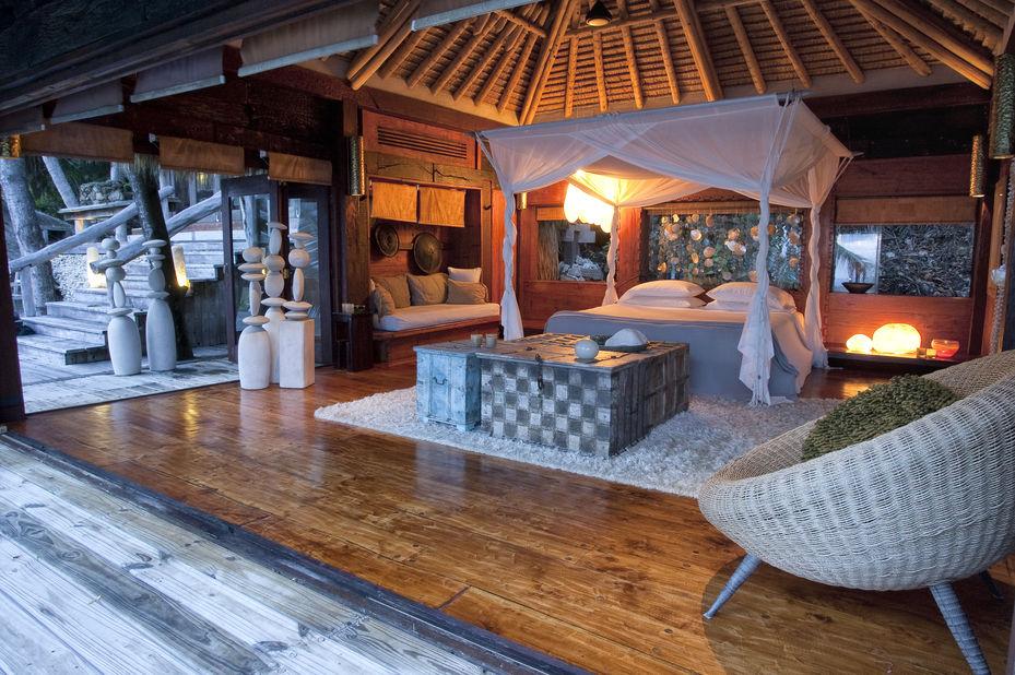 North Island - villa interieur - Seychellen - foto: North Island Resort