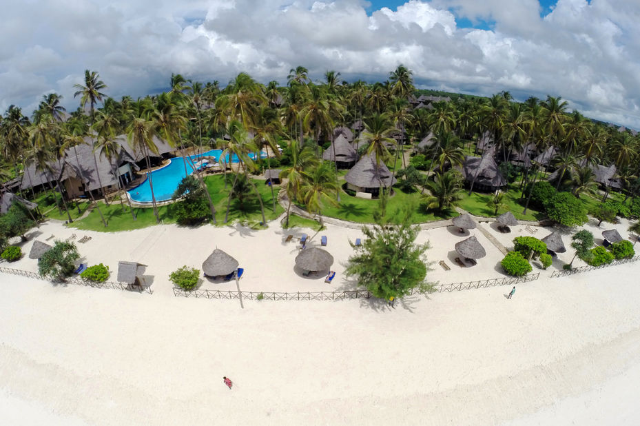 Ocean Paradise - aerial - Zanzibar - Tanzania - foto: Ocean Paradise Resort
