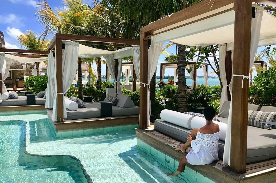 One&Only Le Saint Géran - zwembad - oostkust Mauritius - foto: One&Only Le Saint Géran