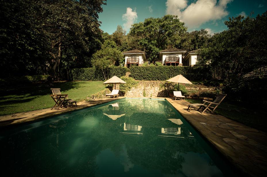 Onsea House - zwembad - Arusha - Tanzania - foto: Onsea House