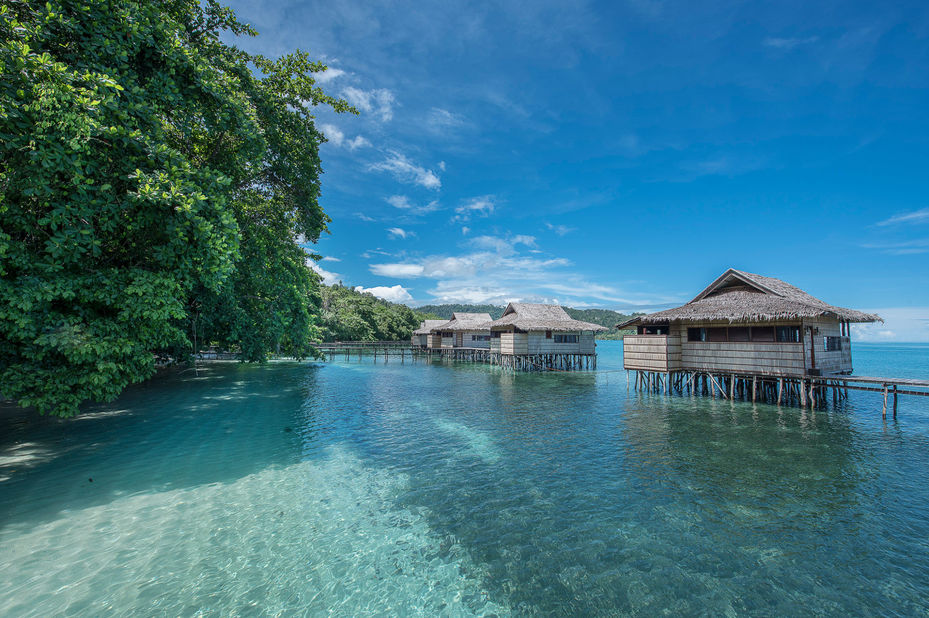 Papua Paradise Eco Resort - kamers - Raja Ampat - Indonesie - foto: Papua Paradise Eco Resort