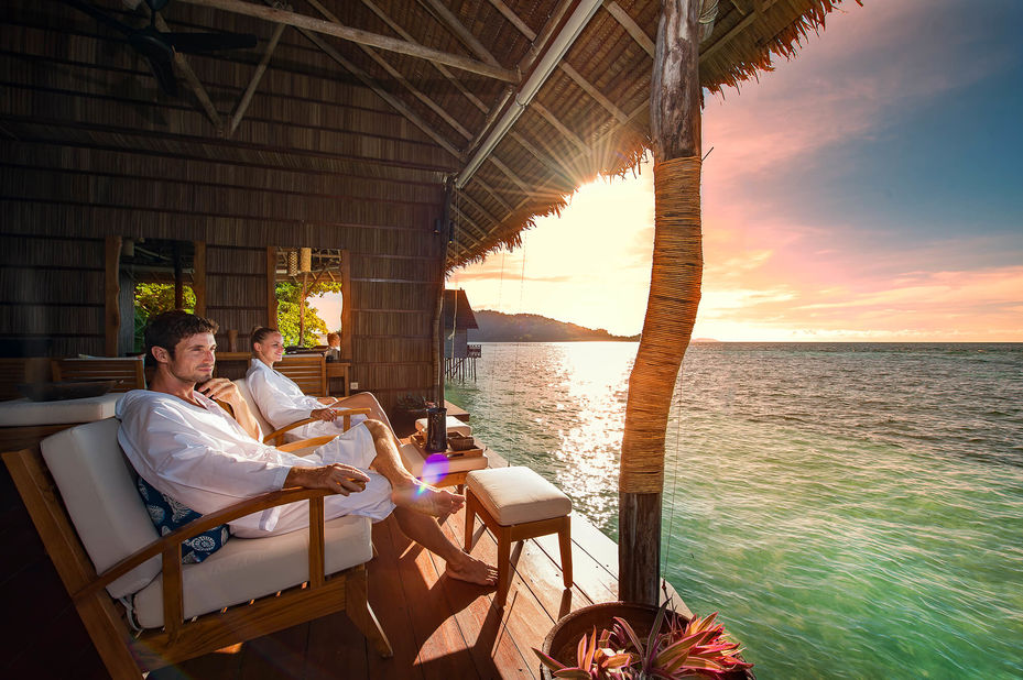 Papua Paradise Eco Resort - spa - Raja Ampat - Indonesie - foto: Papua Paradise Eco Resort