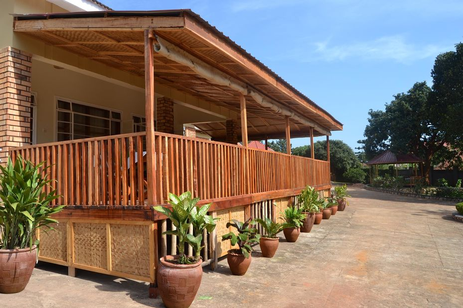 Papyrus Guest House - omgeving - Entebbe - Oeganda - foto: Papyrus Guest House