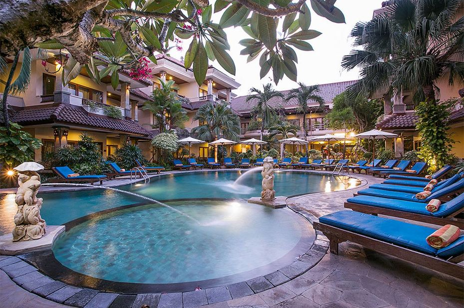 Parigata Resort and spa - zwembad - Sanur - Bali - Indonesie - foto: Parigata Resort and Spa